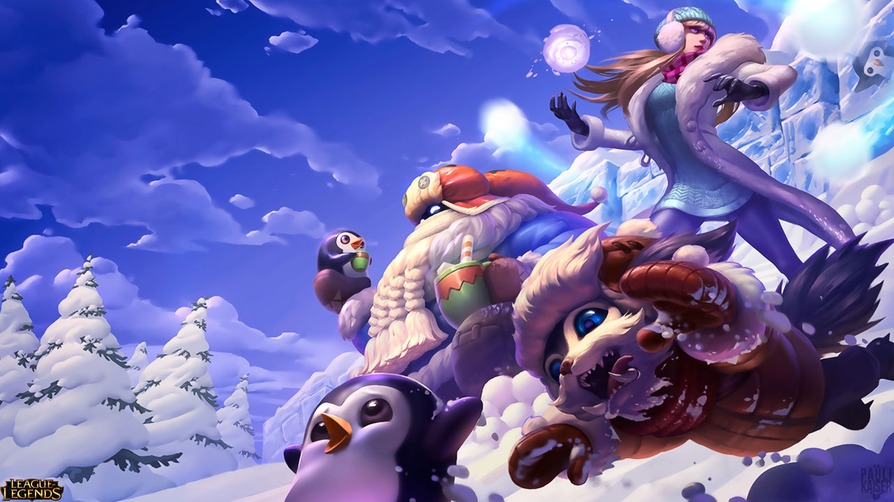 League Of Legends Christmas Wallpaper By Paulikaiser On Deviantart