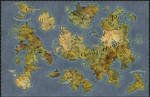 Political world map Ignis