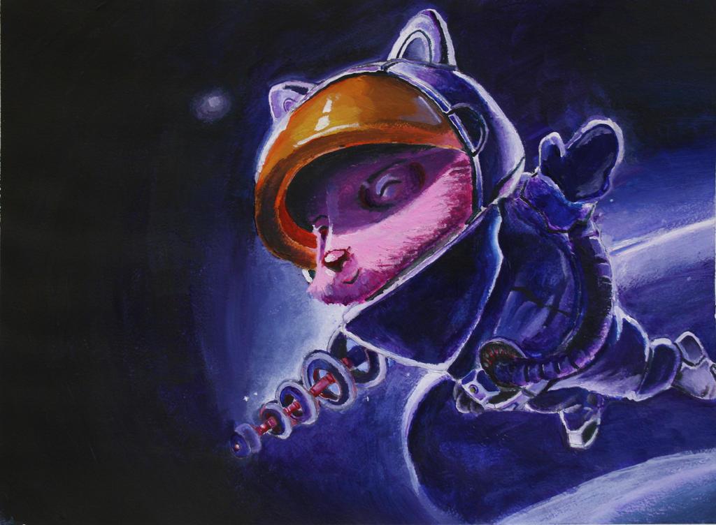 chibi astronaut - photo #41