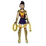 Wonder Girl (Donna Troy) - Teen Titans redesign