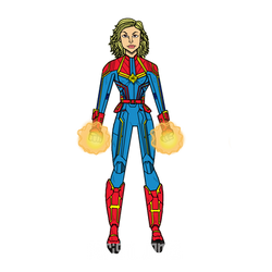 Carol Danvers - Captain Marvel by ParisNJones