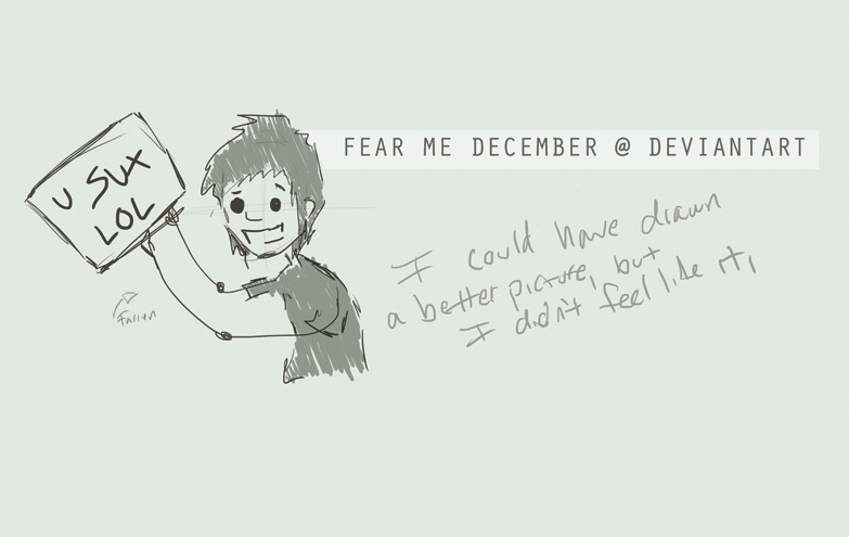 Fear-Me-December's Profile Picture