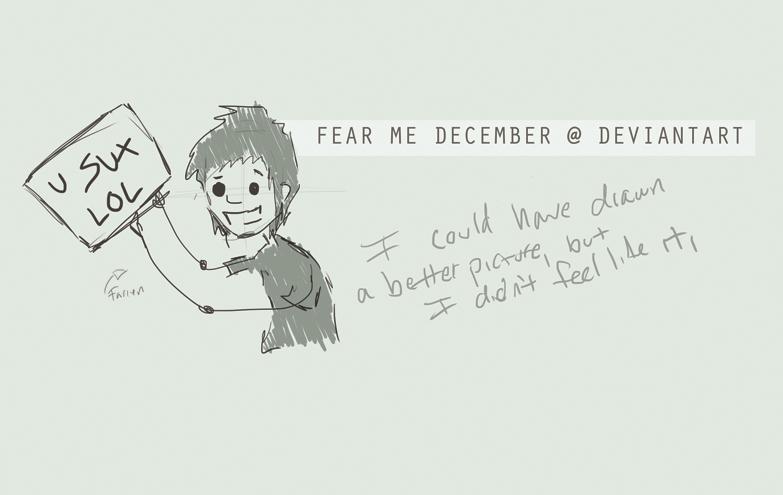 Fear-Me-December's Profile Picture