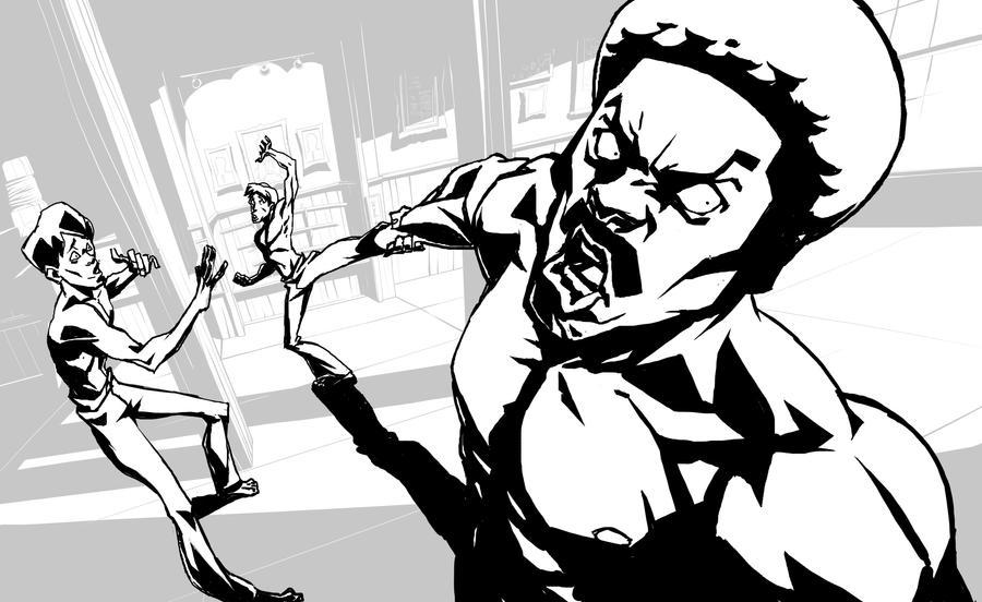 Black Dynamite Layout3 by Guts-N-Effort