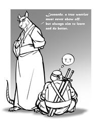 a true warrior by Guts-N-Effort