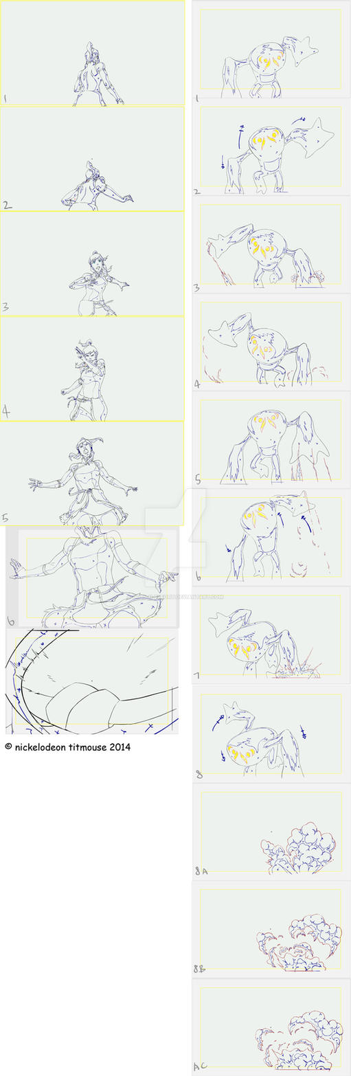 Legend of Korra game key animation 01 by Guts-N-Effort