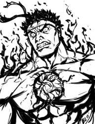 Evil Ryu by Guts-N-Effort