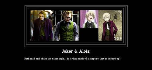 Alois and Joker by LukaMeguirine
