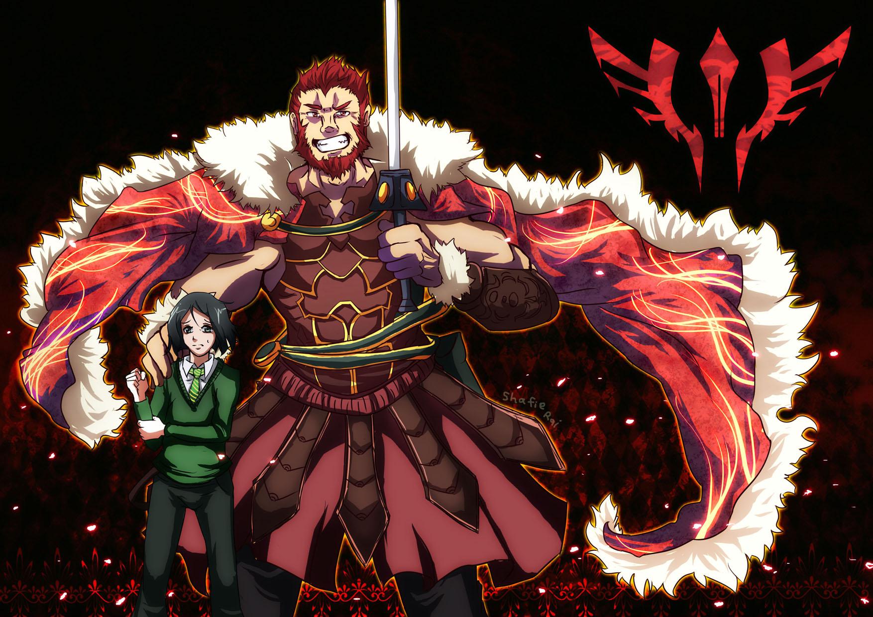 Fate Zero Rider By Raidenokreuz76 On Deviantart