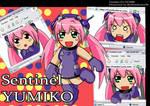 Sentinel  Yumiko - chibi mode by raidenokreuz76