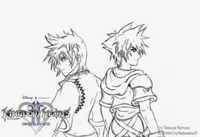 Kingdom Hearts 2 -promo linrtz by raidenokreuz76
