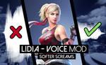 Tekken 7 - Lidia Softer Screams Voice Mod