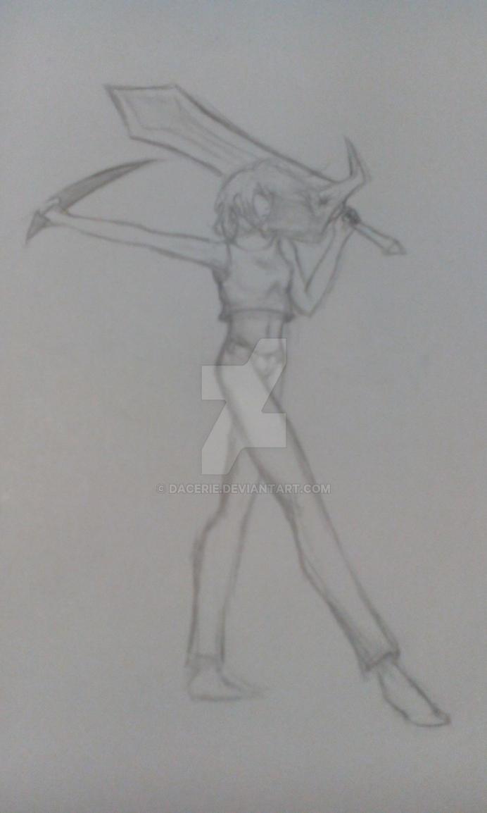 Random sketch by dacerie