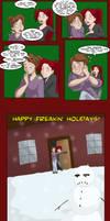 Happy Holidays from Head Trip by shinga