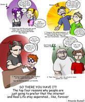 Top Four Reasons... by shinga