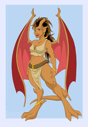 Gargoyles - Kelly by shinga