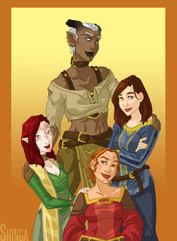 DA:I - Lady Inquisitors