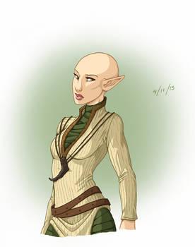 Dragon Age - FemSolas