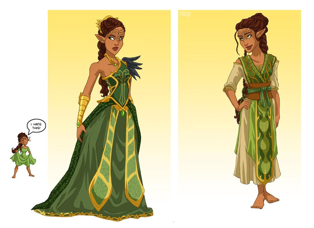 Noliari Dress Designs by shinga