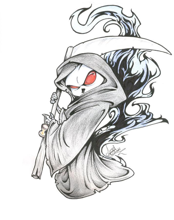 Grim Reaper by shinga