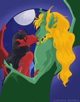 Kirin and Ariana - Kiss by shinga