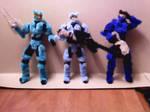Blue Team by RHY7HMICW4RRIOR