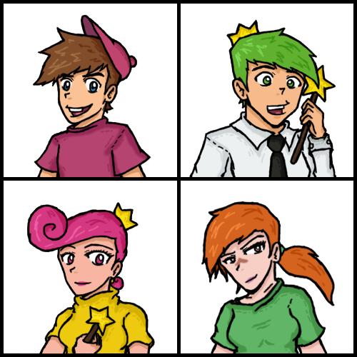 Fairly Odd Parents  character set 14 by OmigawdMatt on DeviantArt
