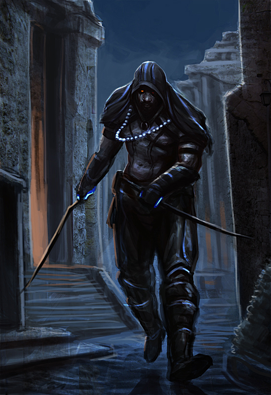 Go Back > Pix For > Male Assassin Fantasy Art
