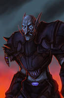 Troll Death Knight by TheChaoticKnight