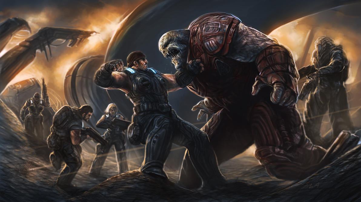 Gears of War 3 by TheChaoticKnight