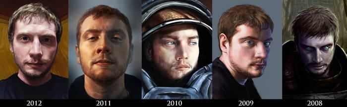 5 Years of Self-Portrait Days