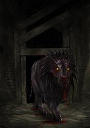 MAMA Contest - Demonic Lion Nightmare