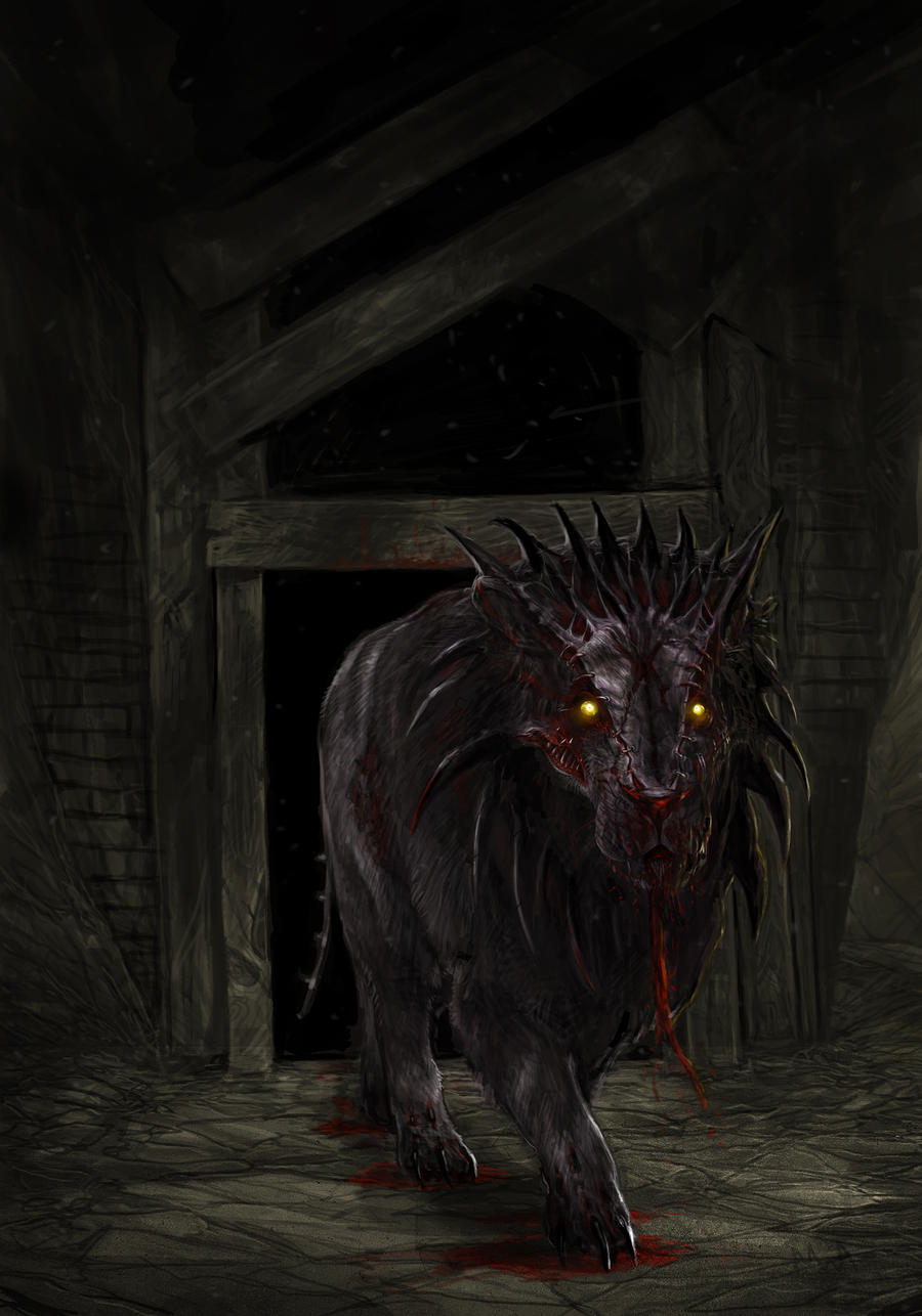 MAMA Contest - Demonic Lion Nightmare by TheChaoticKnight