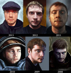 Self-Portrait Day: 6 Years