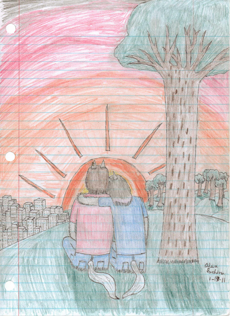 The Sunset by Halfwolf102