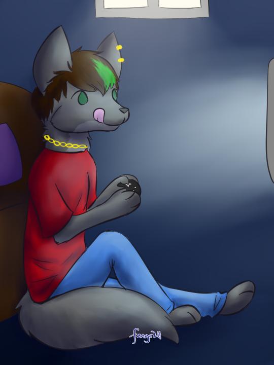 Zeek -Commission by Fangs211- by Halfwolf102