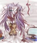 Chibi Code Geek Gemini by Gemini-Mystica