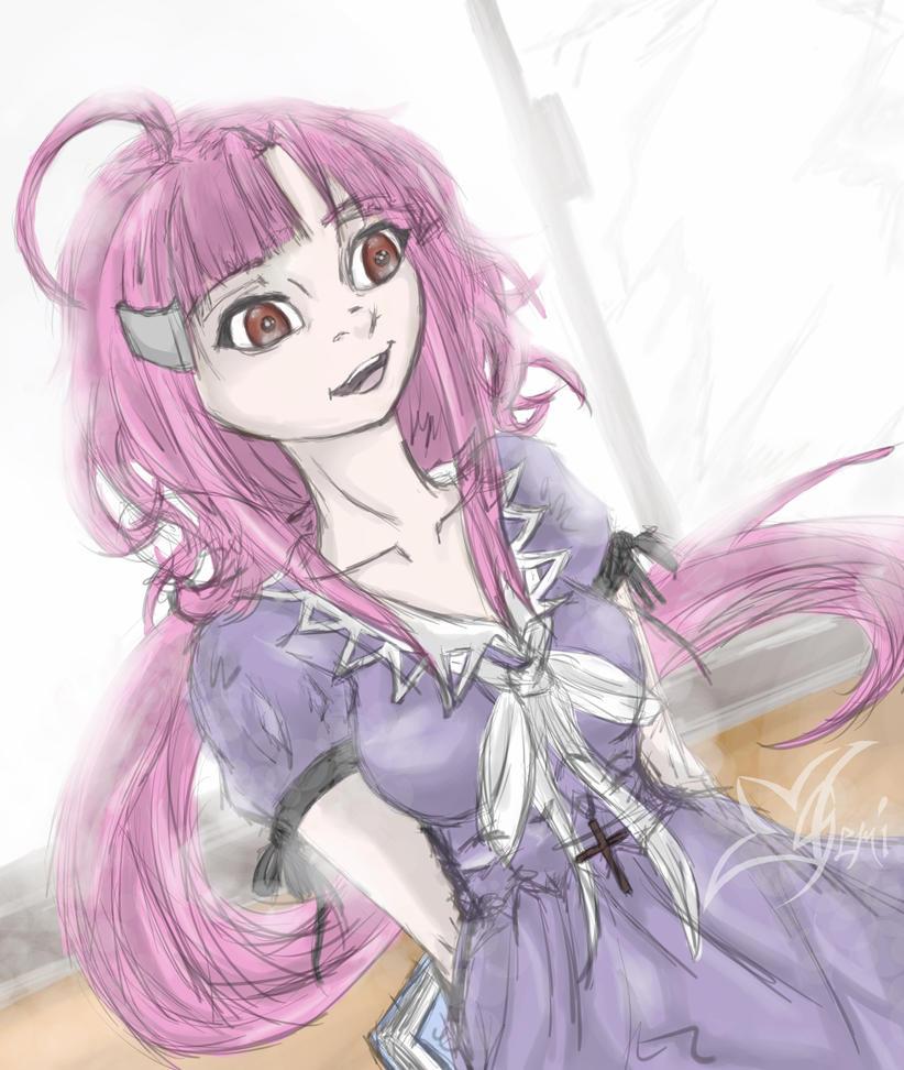 Megu-nee Sakura by Gemini-Mystica