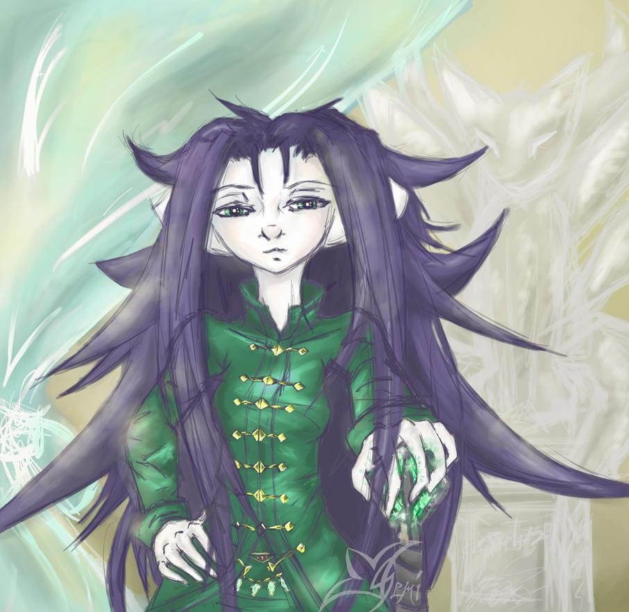 Goddess In The Court by Gemini-Mystica
