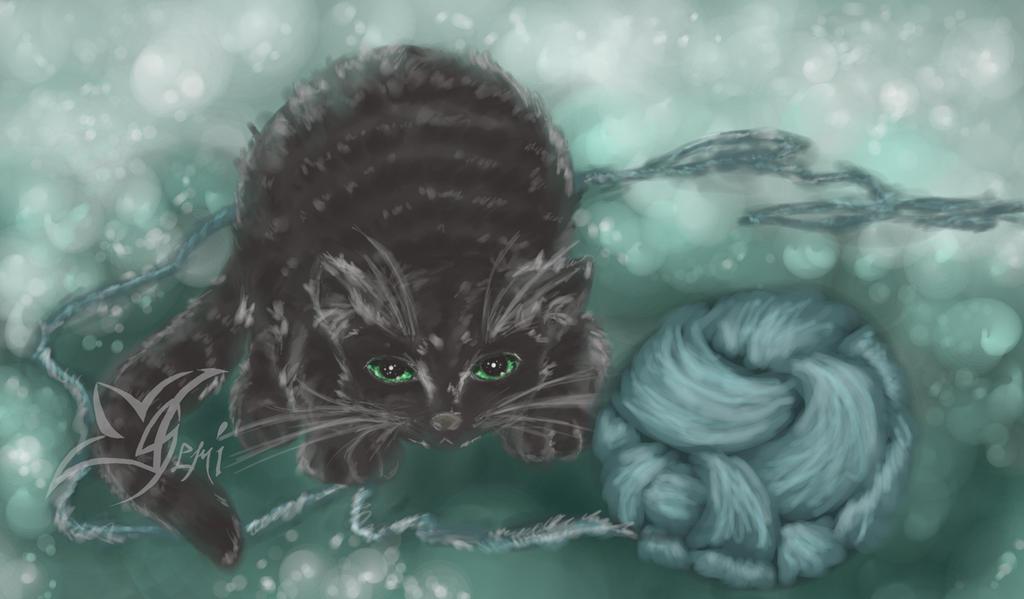 Fluffy Chaos by Gemini-Mystica
