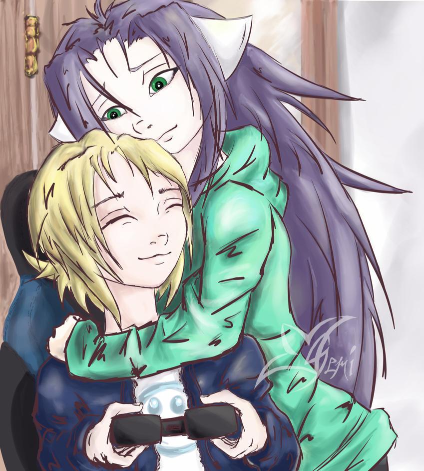 Gemi and Hiro by Gemini-Mystica