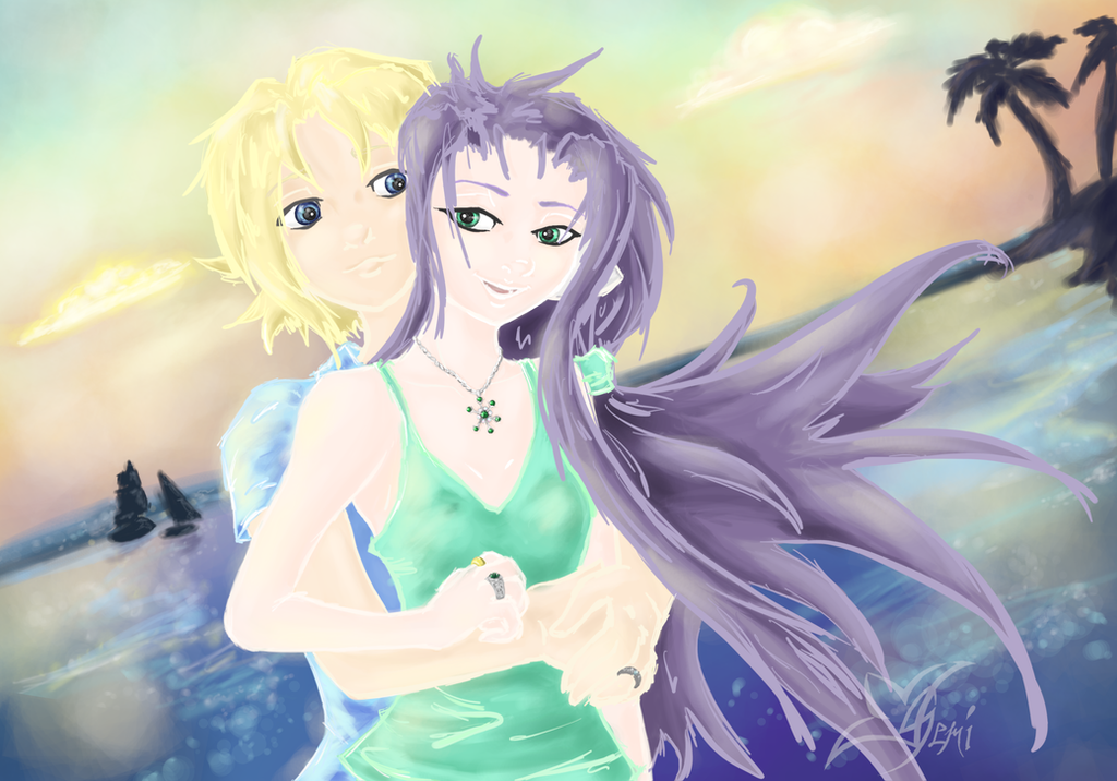 Vibrant Ocean by Gemini-Mystica