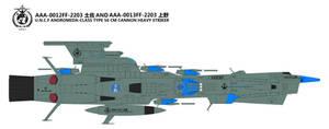 Andromeda-Class Type 56cm Cannon Heavy Striker