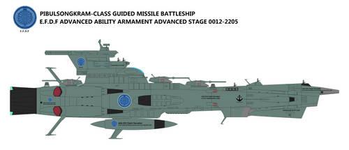 Pibulsongkram-class Guided Missile Battleship by TeitokuTachibana