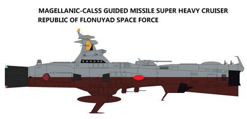 Magellanic-class Guided Missile Heavy Cruiser by TeitokuTachibana