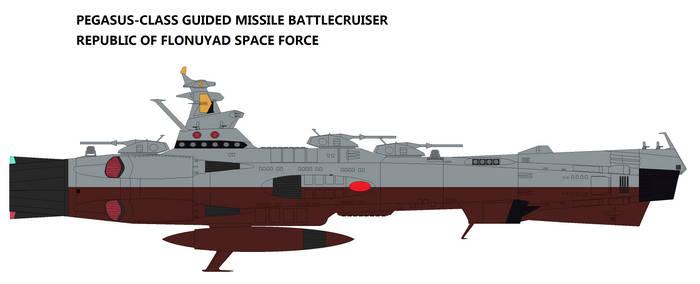 Pegasus-class Guided Missile Battlecruiser by TeitokuTachibana