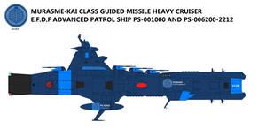 Murasame-Kai-class Guided Missile Heavy Cruiser