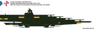 Lambea-class Space Superbattlecarrier
