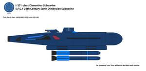 I-201-class Dimension Subnarine