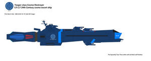 Yeager-class Cosmo Destroyer